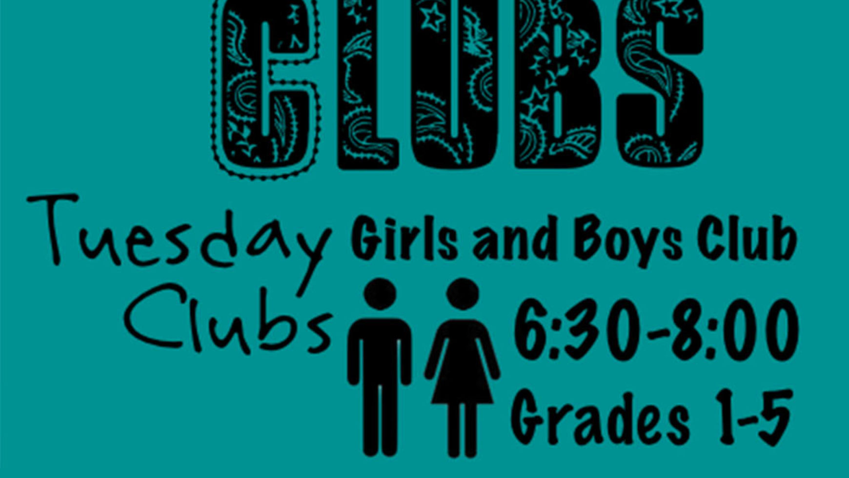 Tuesday Clubs (Children)