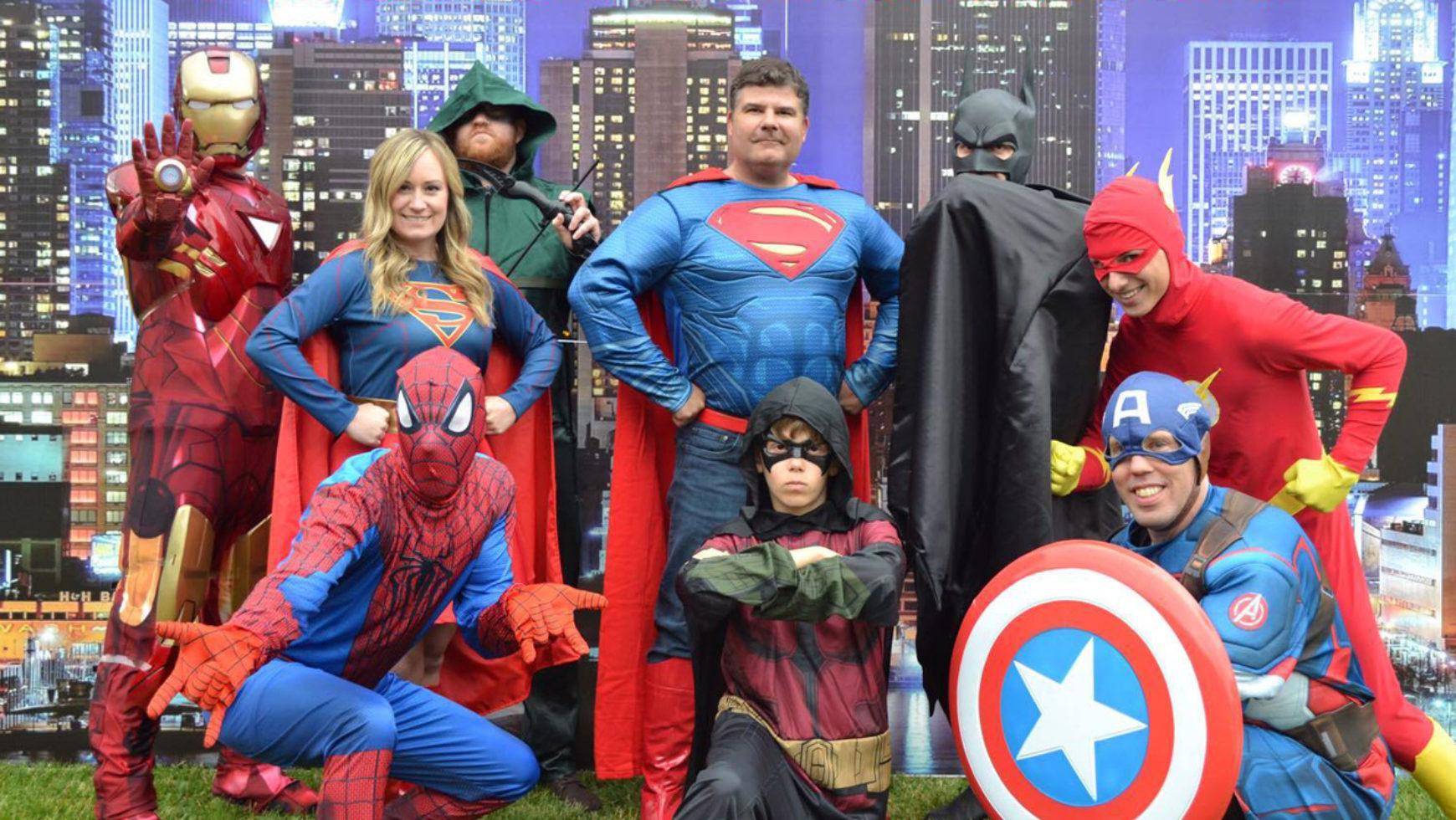 Family Fun Night: Super Hero Boot Camp!
